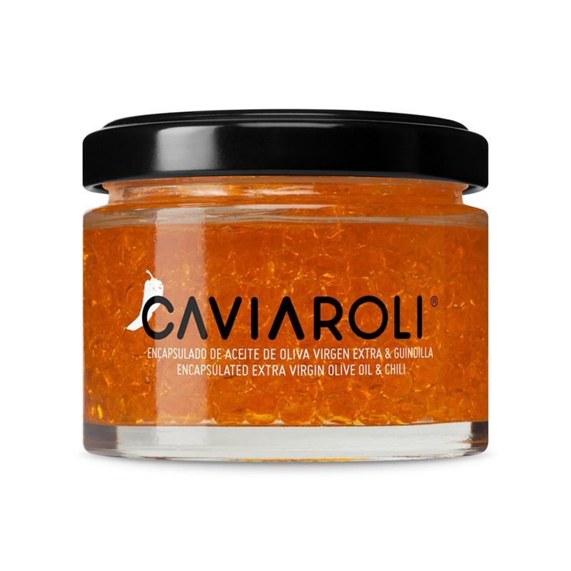 Caviar de Azeite Virgem Extra com Malaguetas - Caviaroli