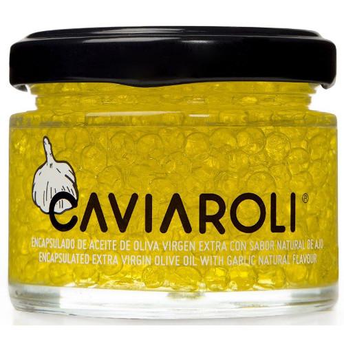 Caviar de Azeite Virgem Extra com Alho - Caviaroli