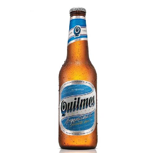 Cerveja argentina Quilmes
