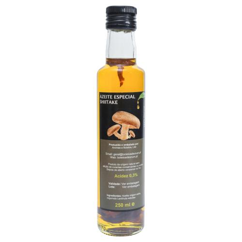 Azeite aromatizado com Boletos (Boletus edulis)