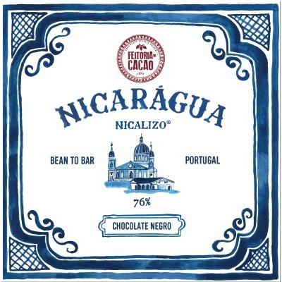 Chocolate Negro Nicarágua Nicalizo 76% - Feitoria do Cacao