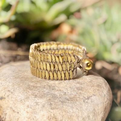 Bracelete Threez Taupe