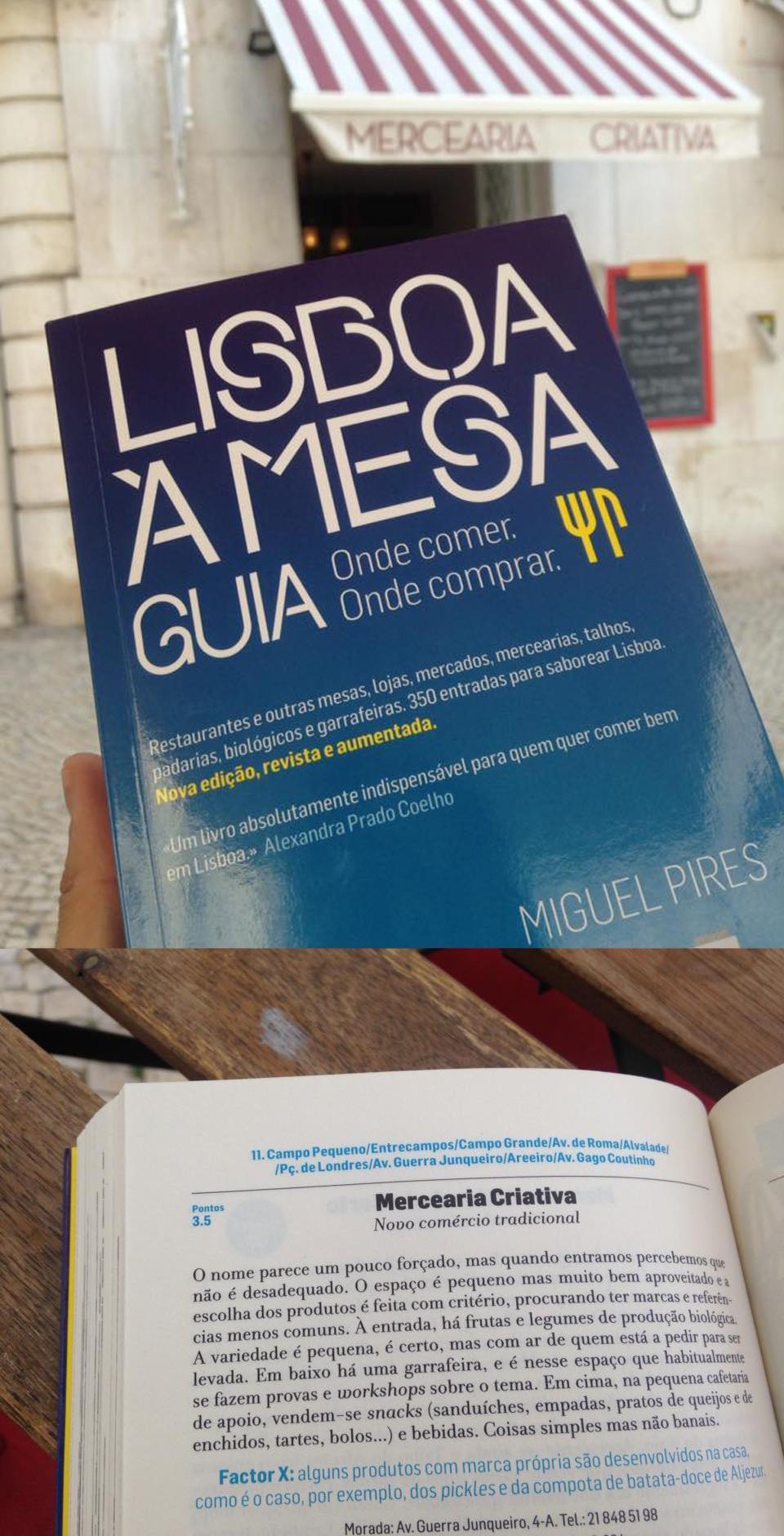 GUIA LISBOA À MESA · 06/2016