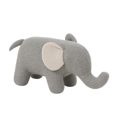 Peluche Elefante Cinza