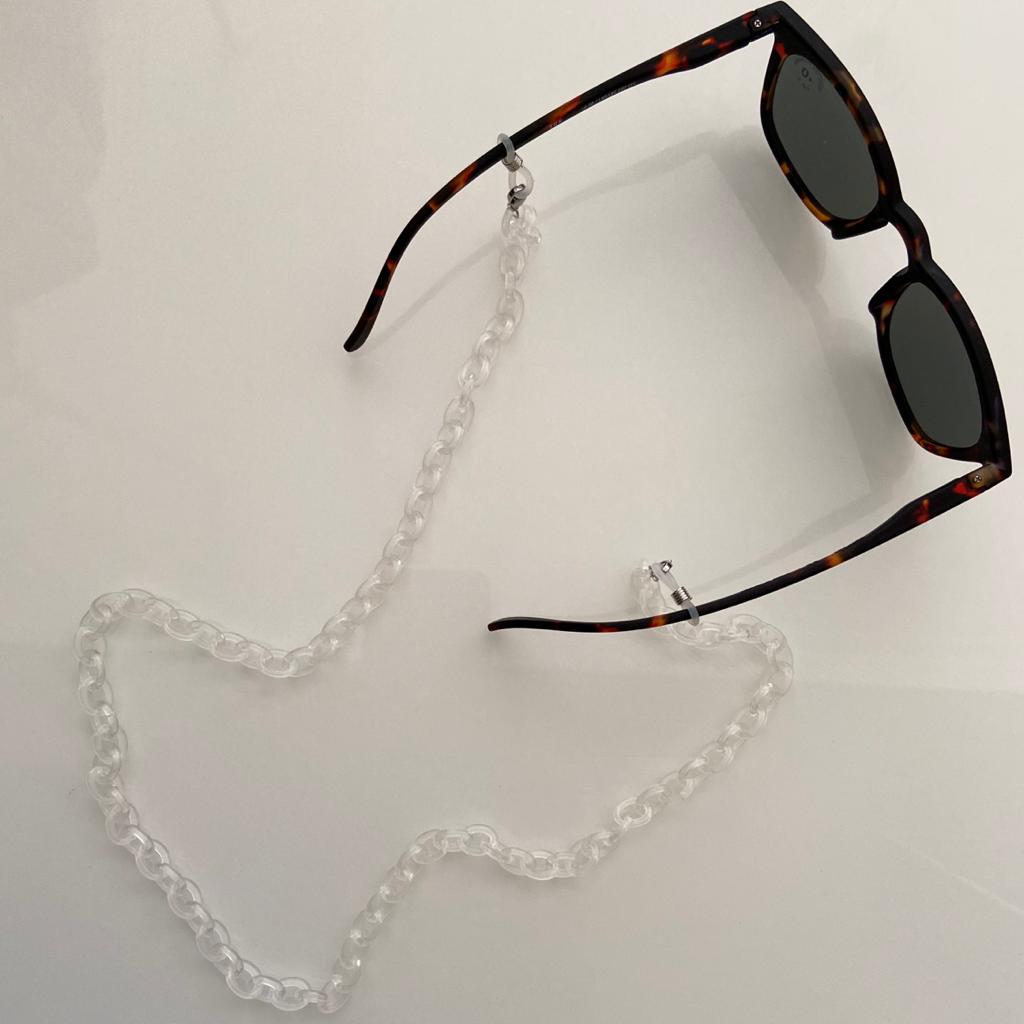 Corrente Óculos | Transparente