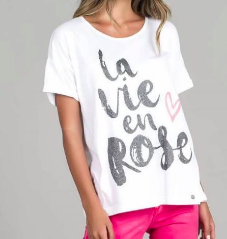T-Shirt Ruga   Branco T012