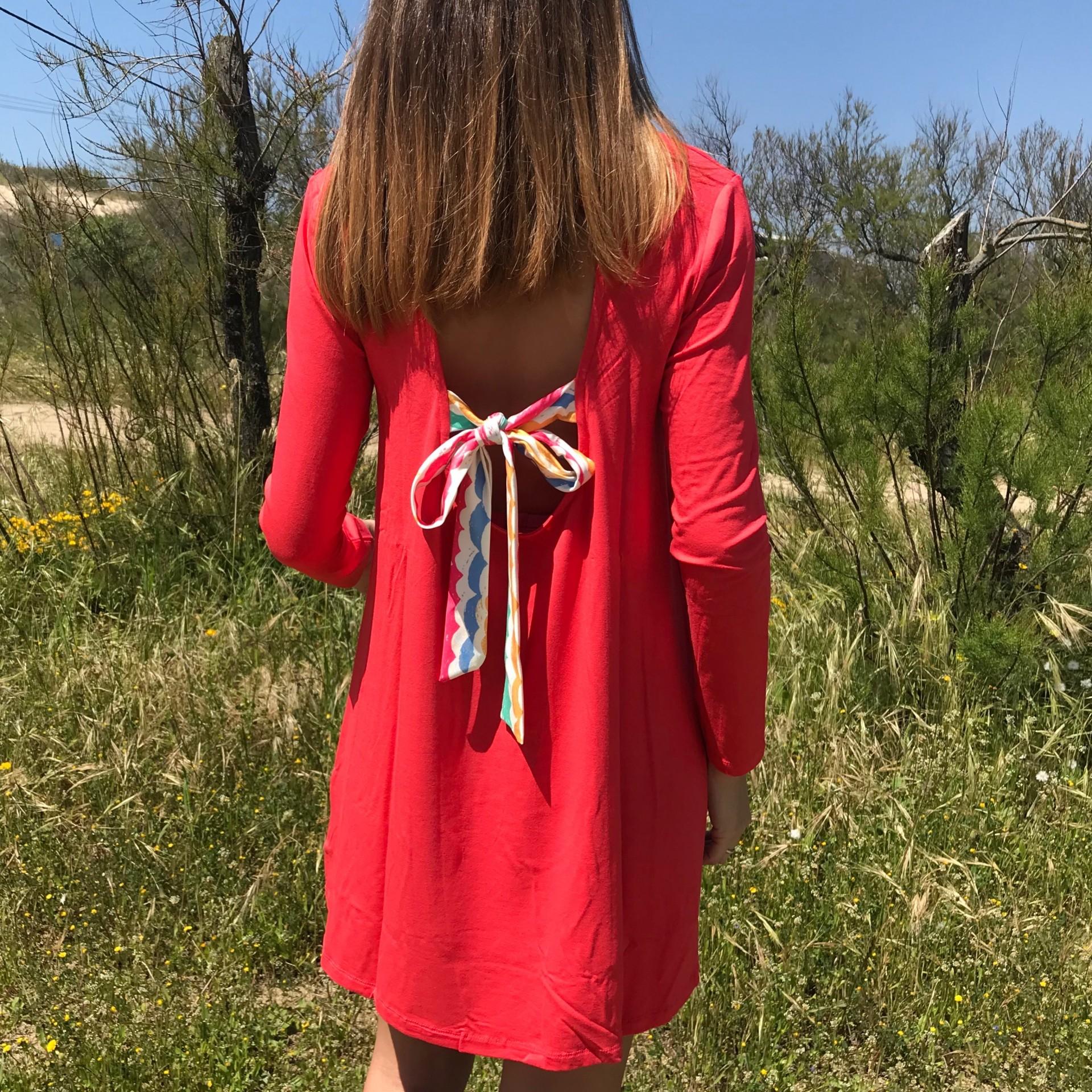 Vestido Ruga | Fuscia 2639