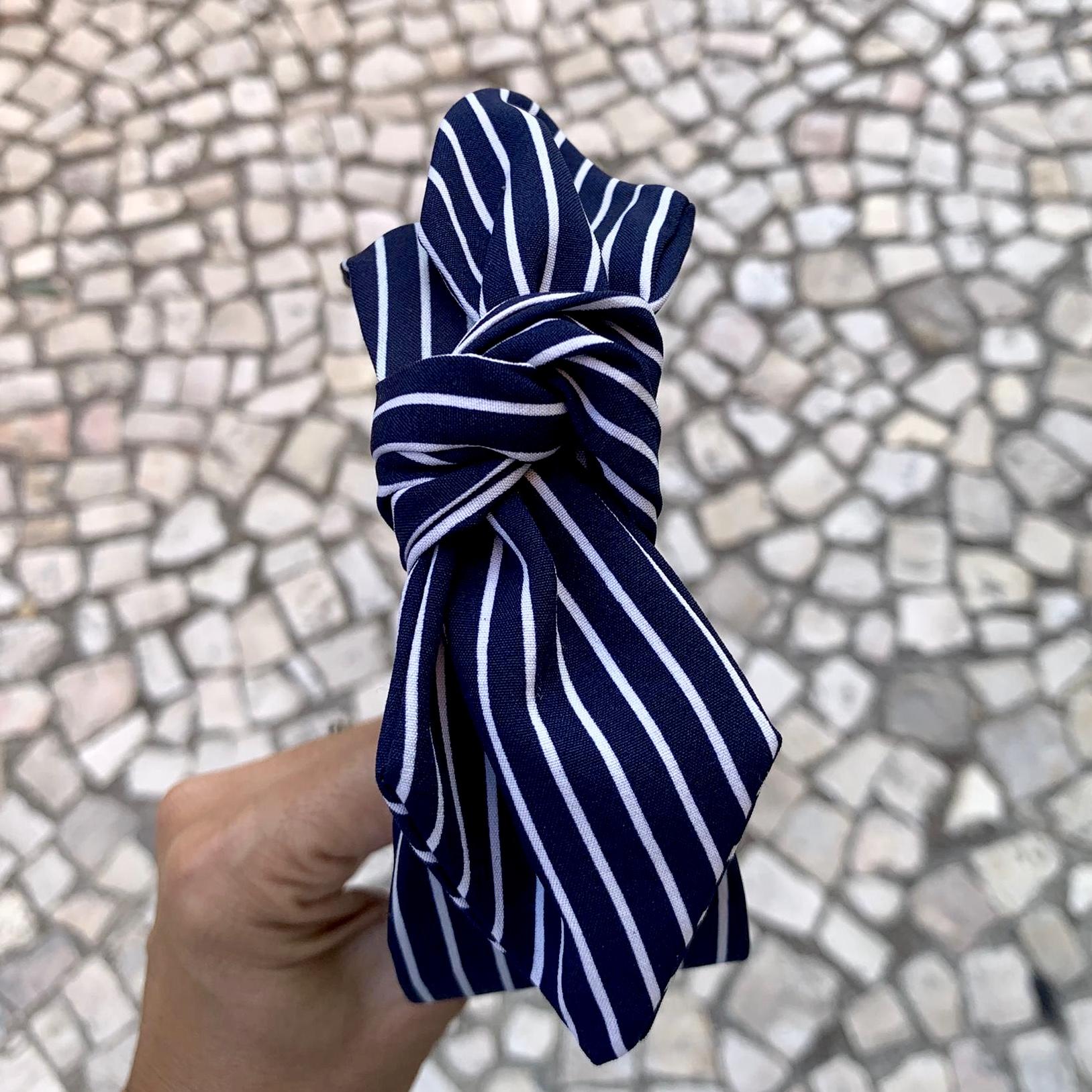Bandolete Com laço | Marinho
