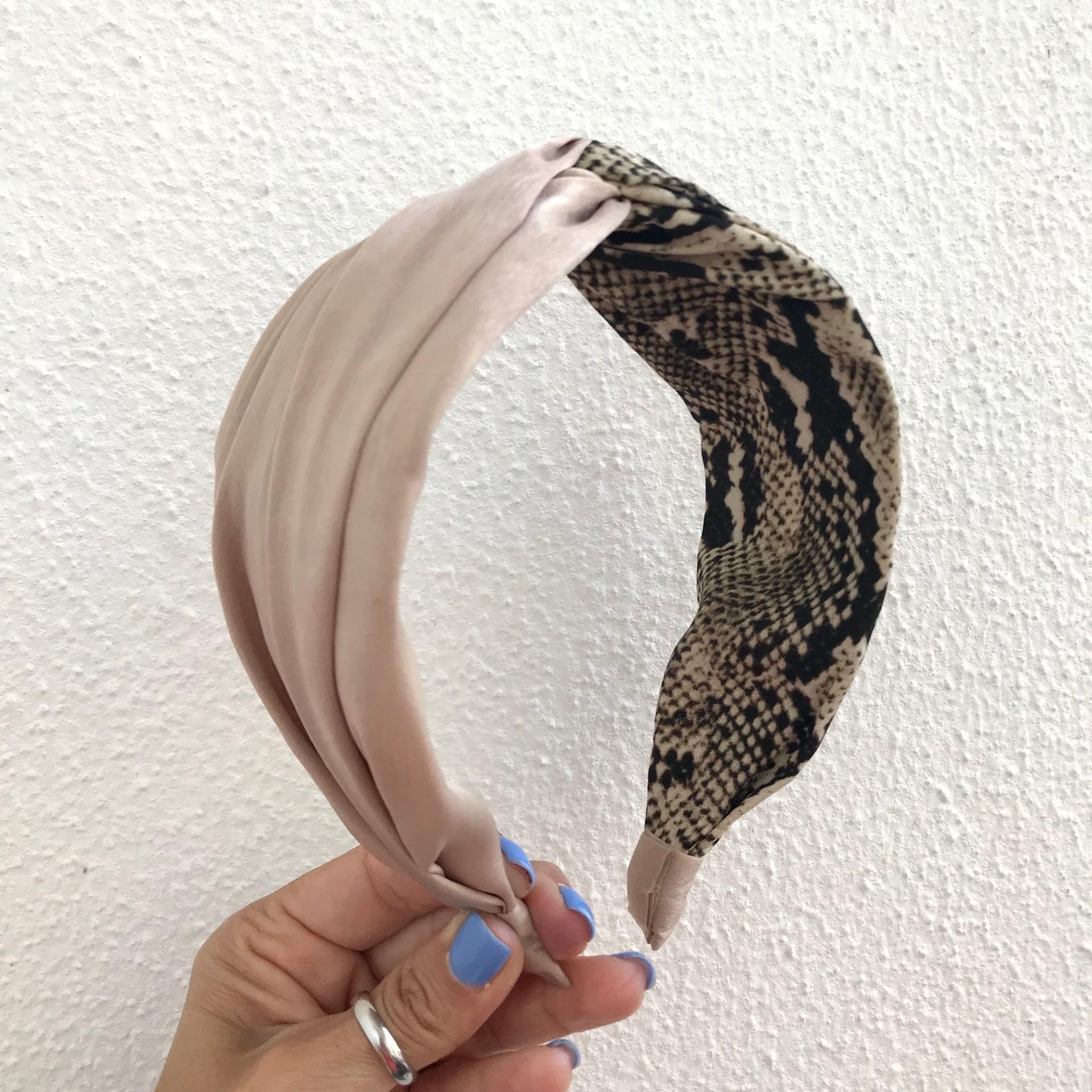 Bandolete Duplo Padrão | Creme