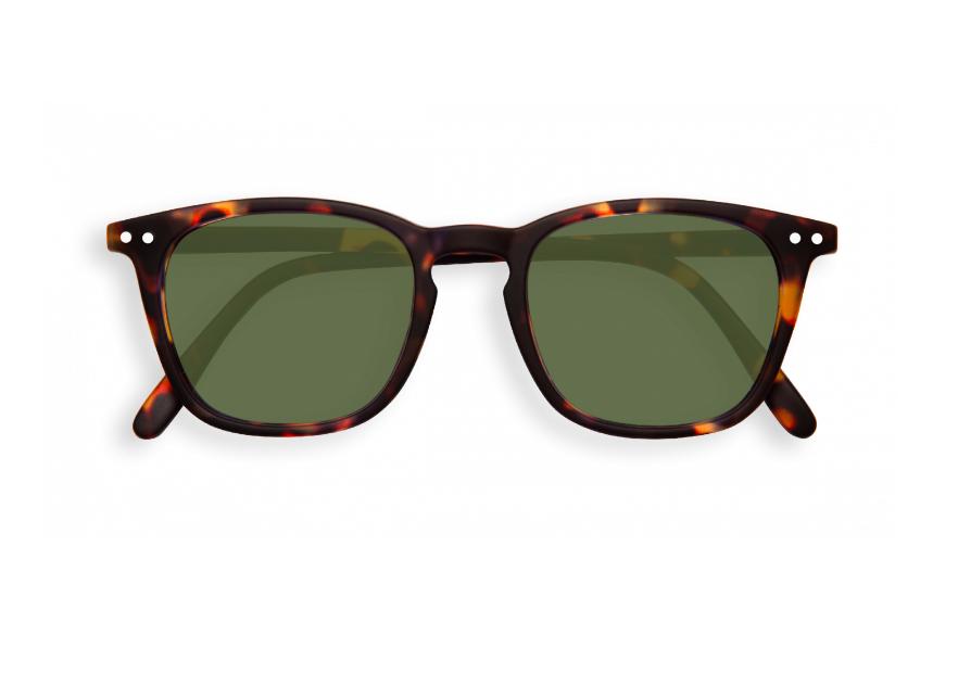 #E SUN Tortoise Green Lenses