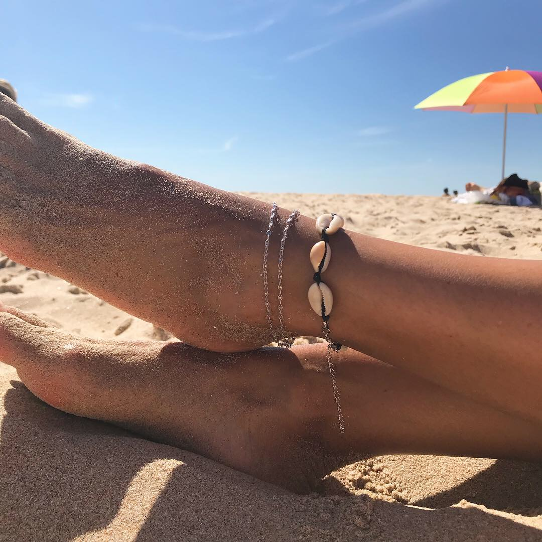 Pulseira Búzios de pé