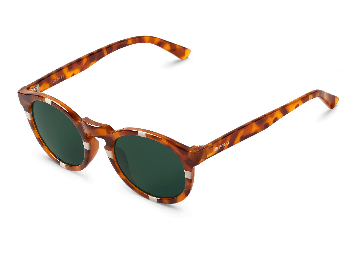 CROSS CREAM/LEO TORTOISE JORDAAN WITH CLASSICAL LENSES