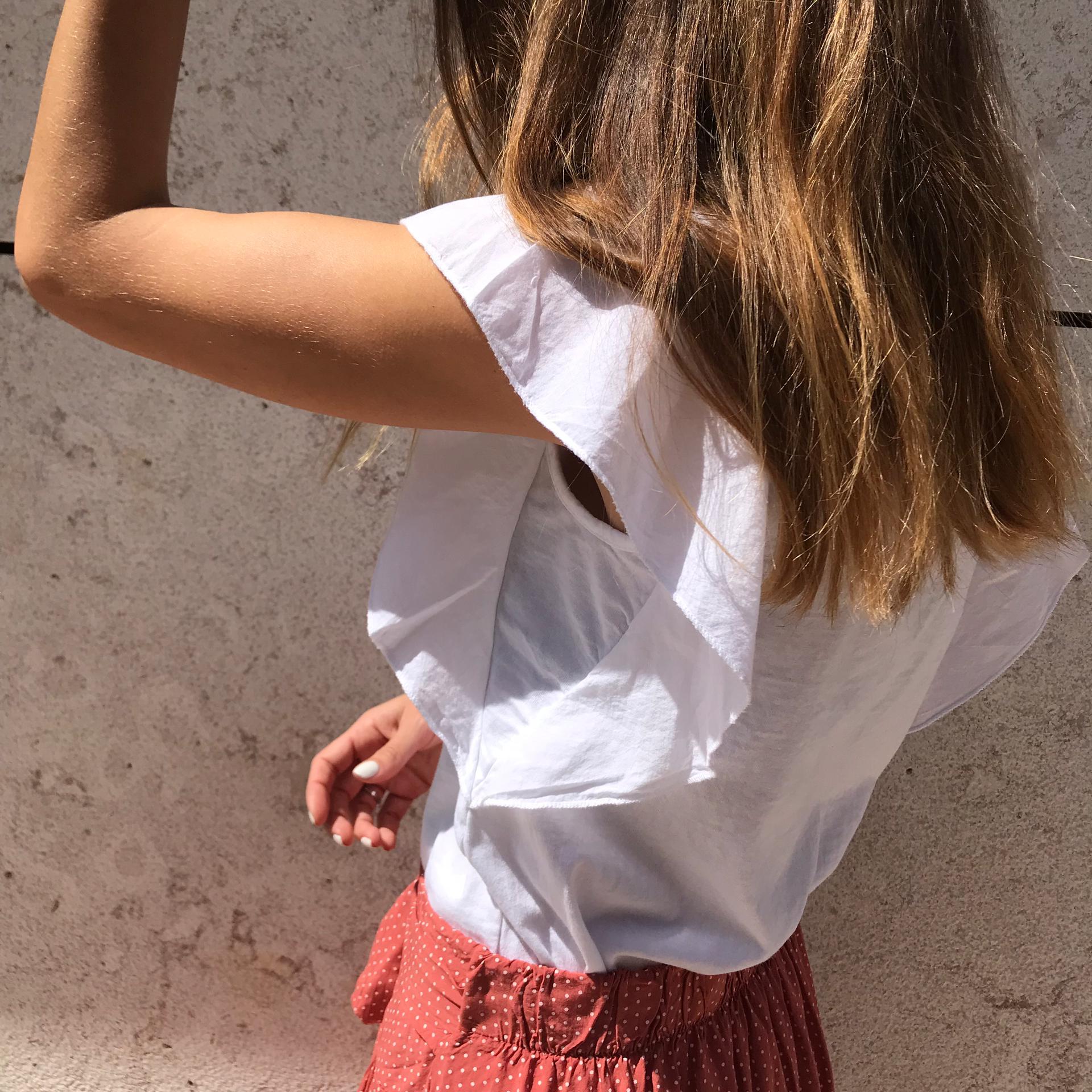 T-shirt Lisa Bolso | Branca