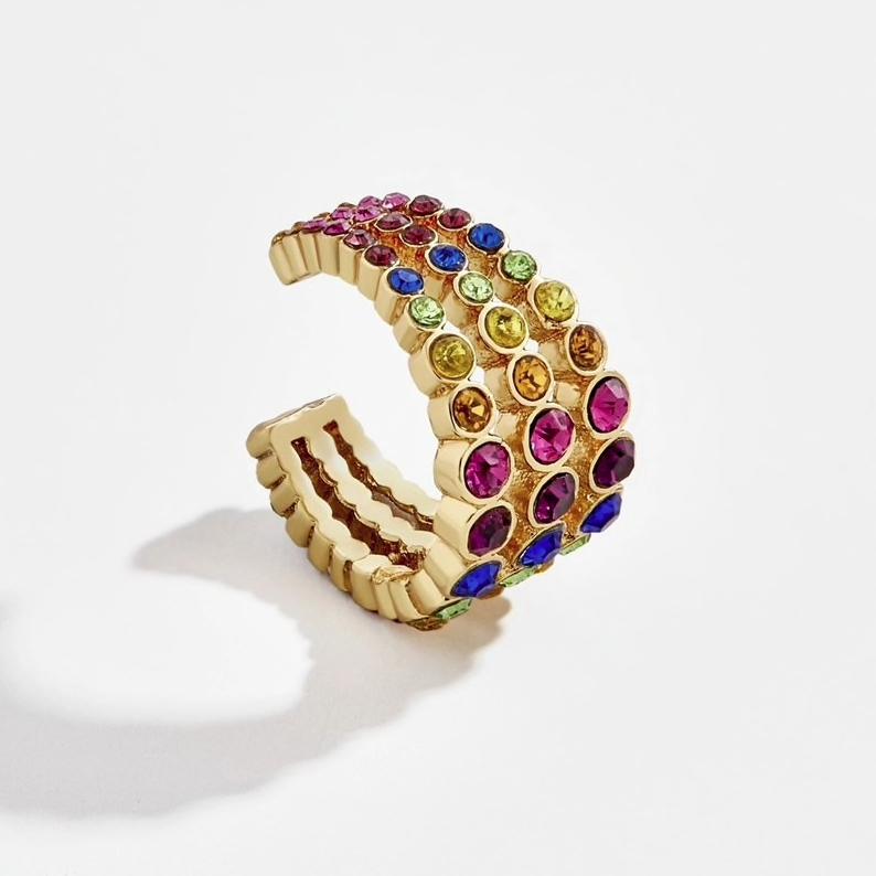 Anilha Tripla XL | Brilhantes Coloridos