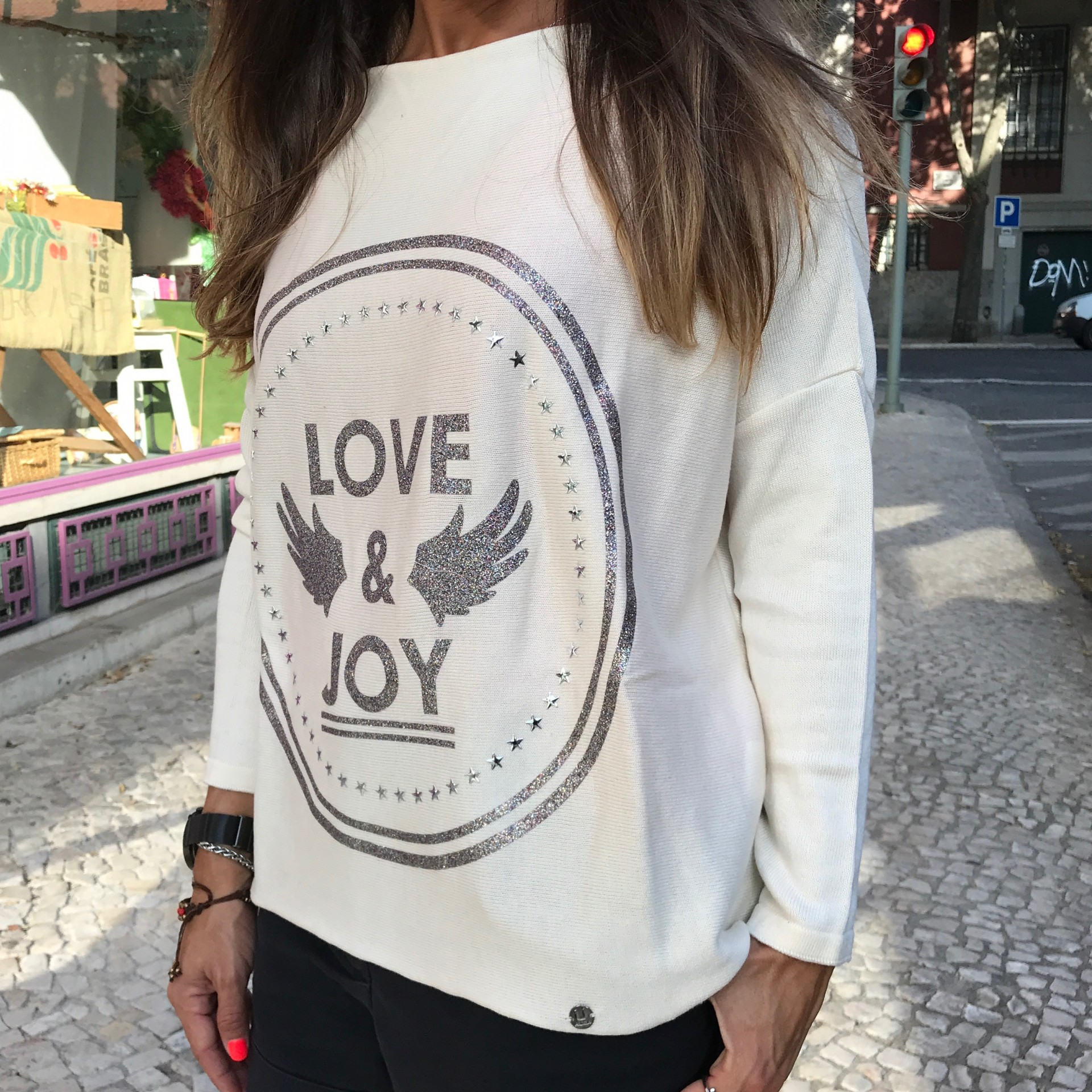 Camisola Love&Joy | Ruga