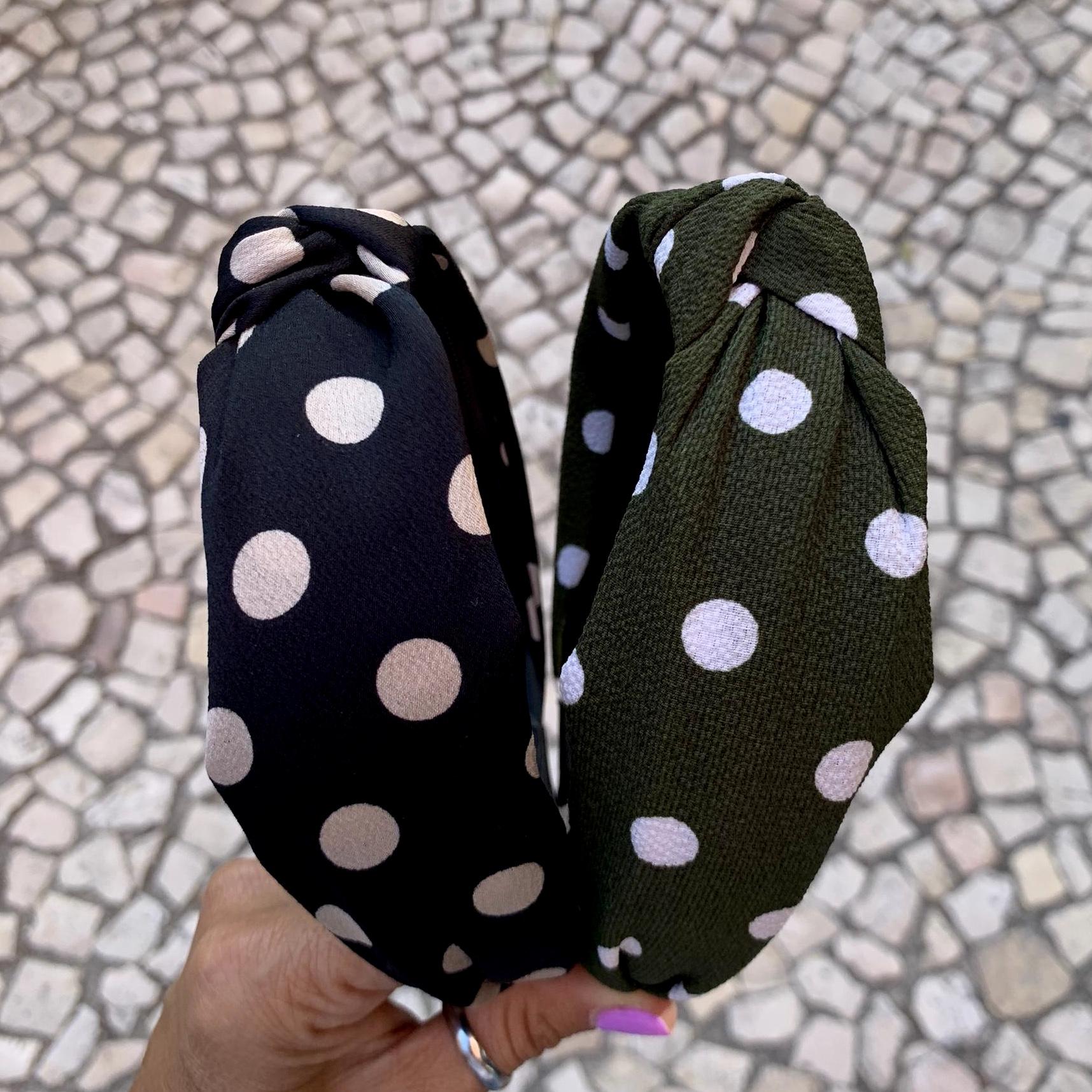 Bandolete Bolinhas | Verde