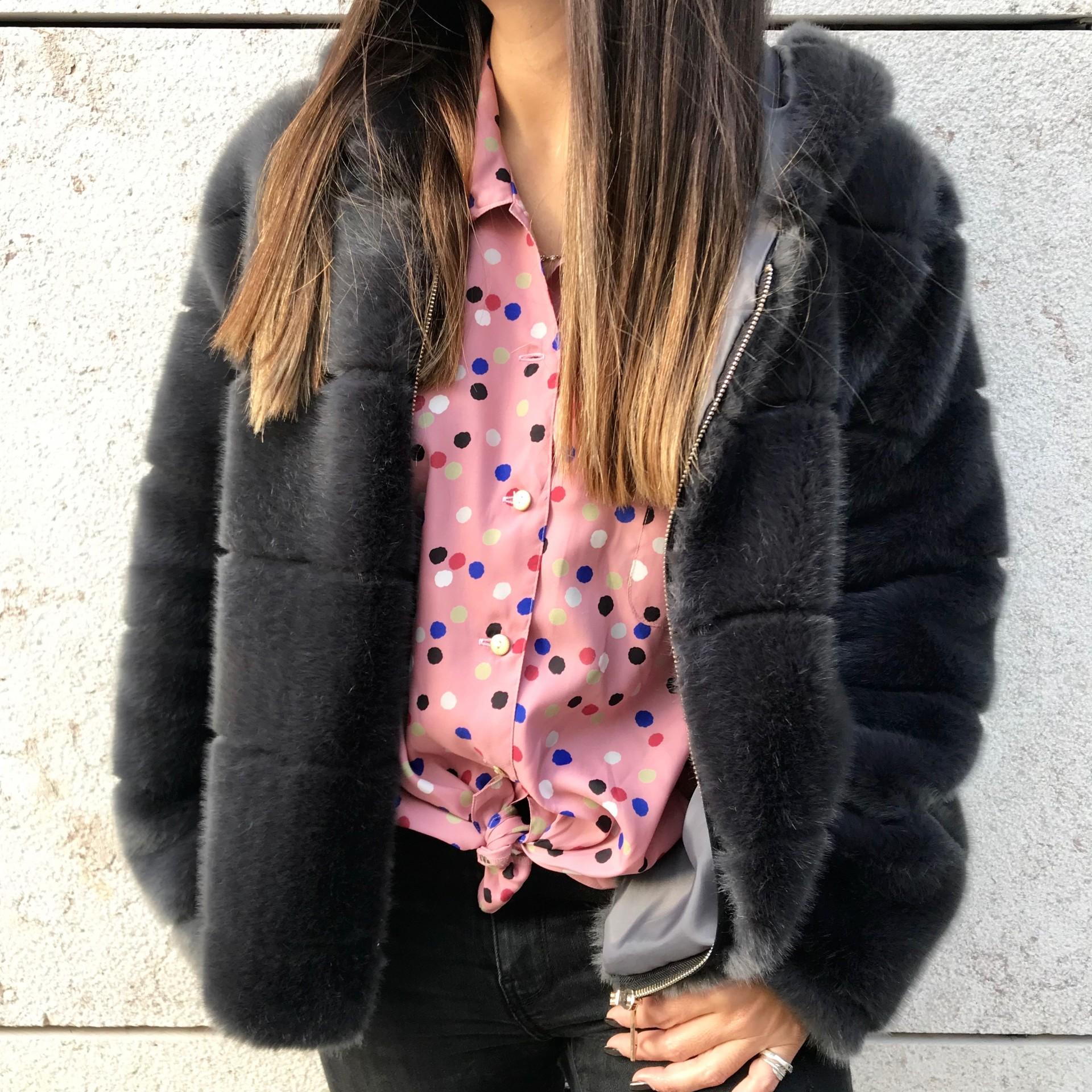Camisa Pink Dots