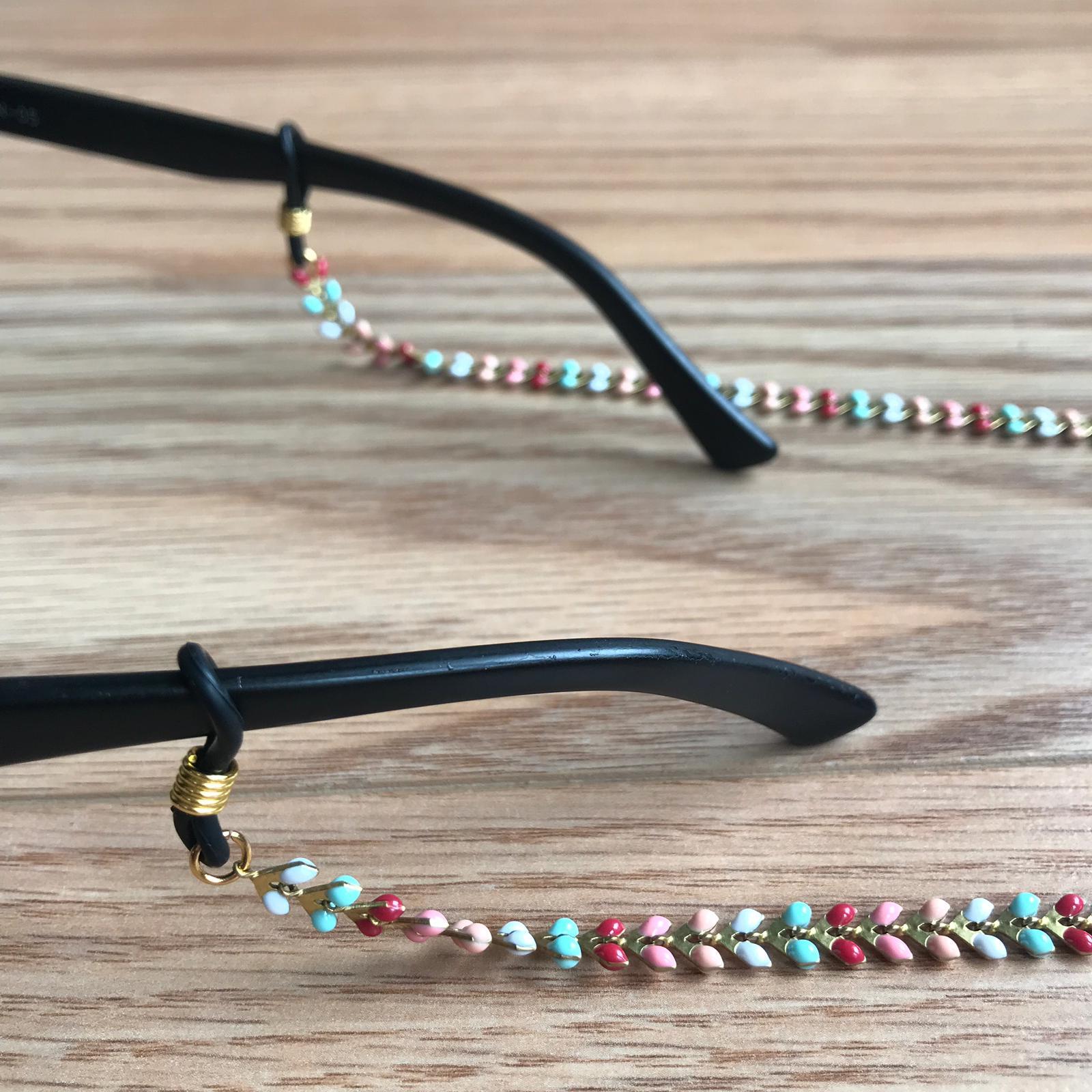 Fita de óculos Aço