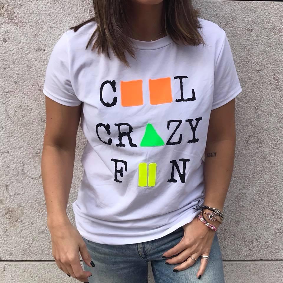 T-Shirt Cool Crazy Fun