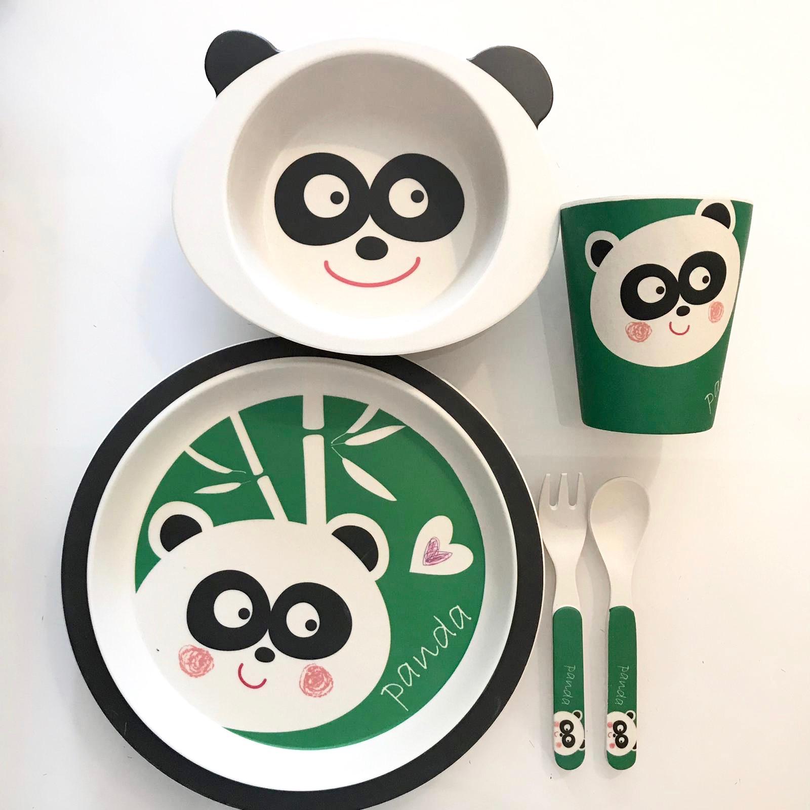 Conjunto Bamboo (5 peças) | PANDA