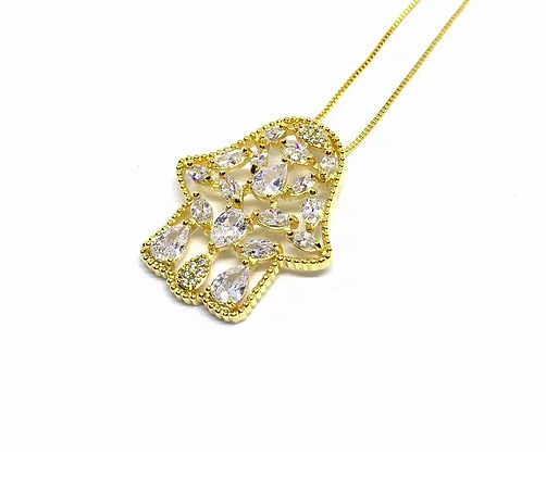 Little Hamsa Necklace