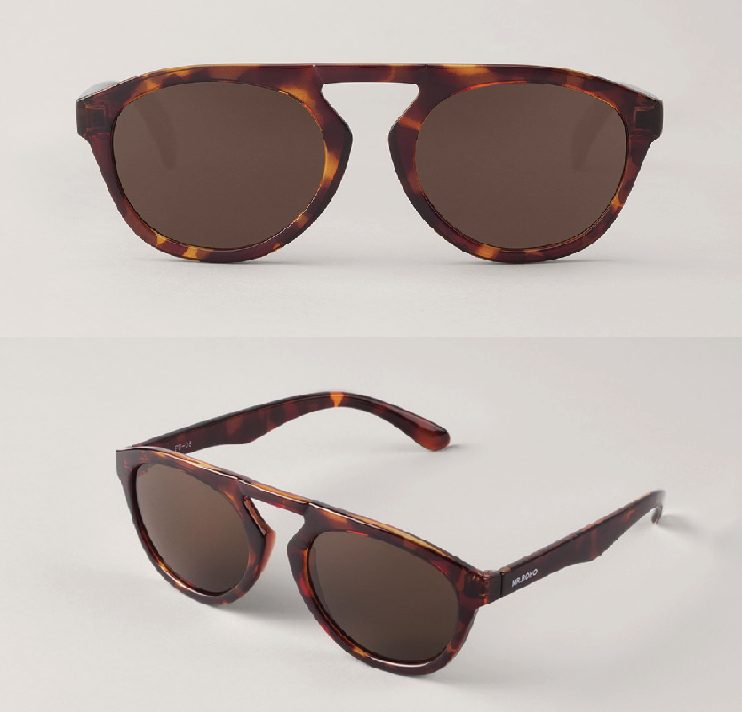 Vintage Tortoise Wynwood with Classical Lenses