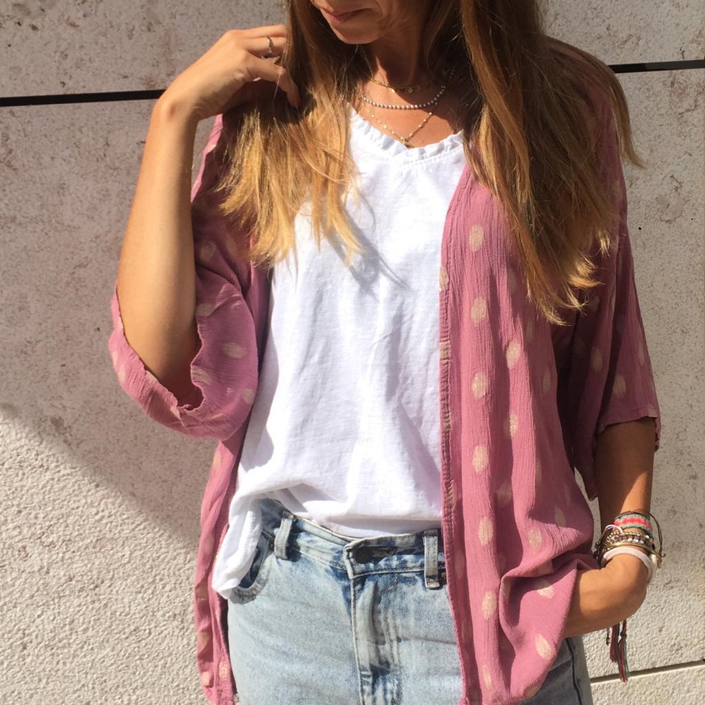 Kimono Padrão | Rosa Claro