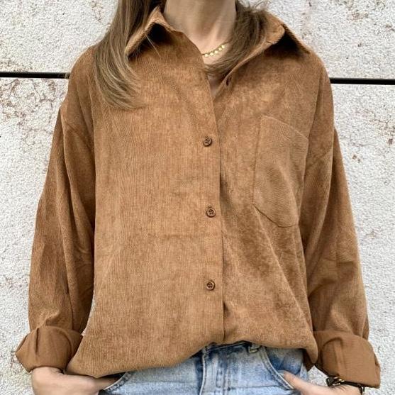 Camisa de Bombazine | Camel