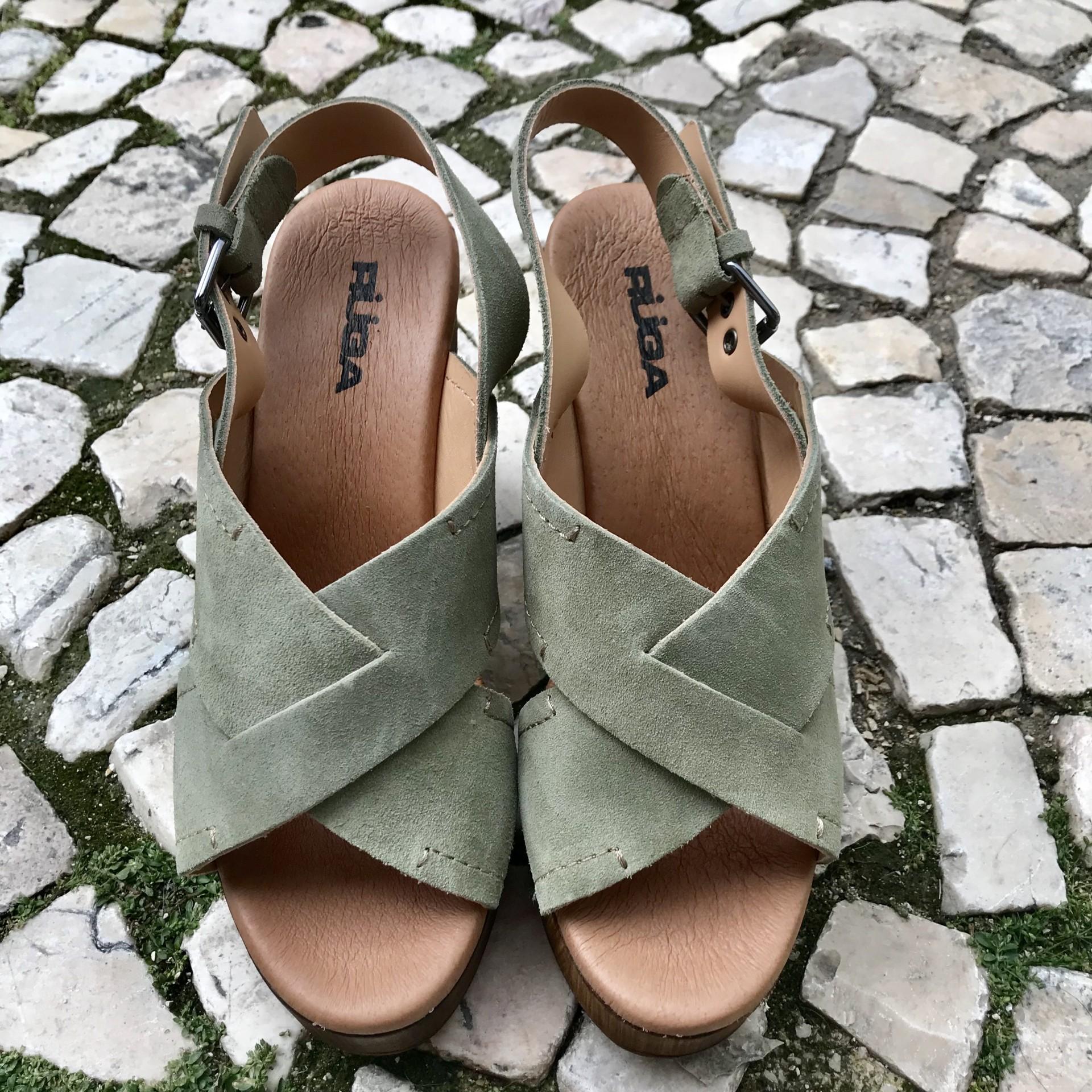Sandálias Ruga | Kaki