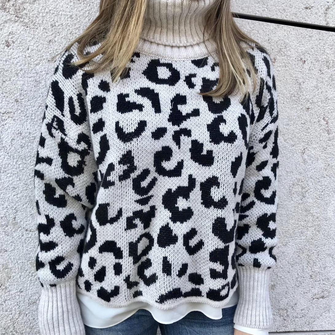 Camisola Padrão | Branco