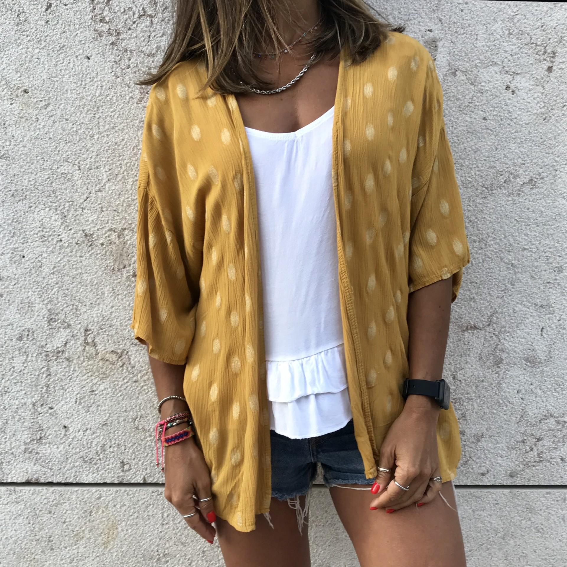 Kimono Padrão | Mostarda