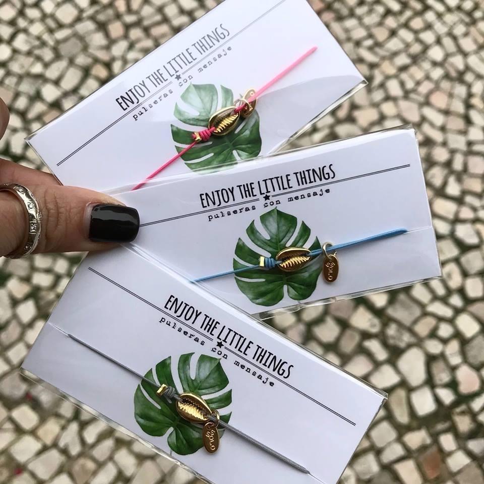 Pulseira Elástico Búzio | Enjoy the Little Things