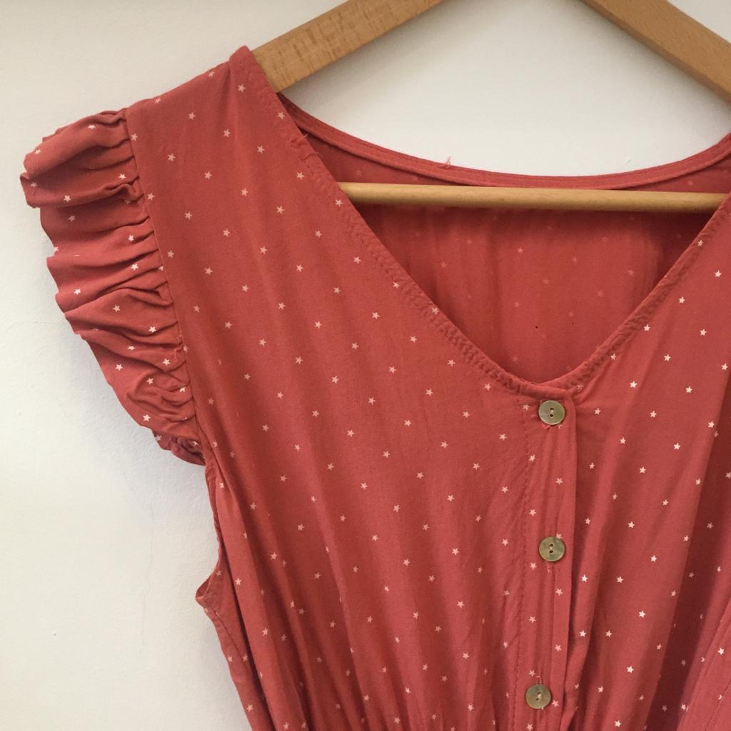 Vestido Estrelinhas | Morango