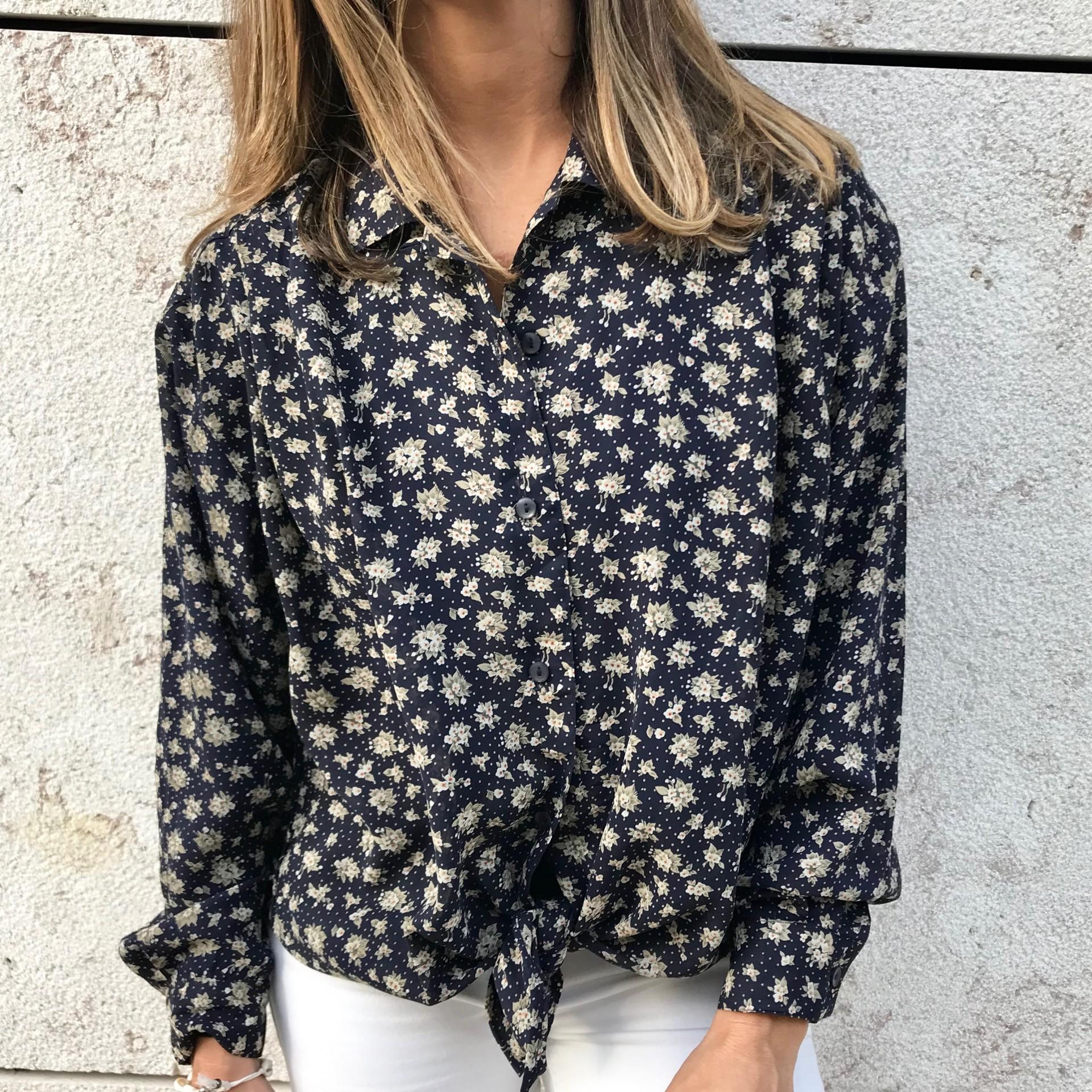 Camisa Mini Flores