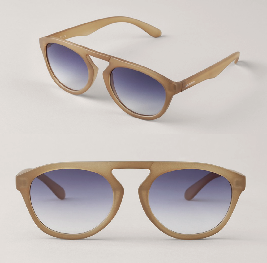 Matte Olive Wynwood with Gradient Blue Lenses