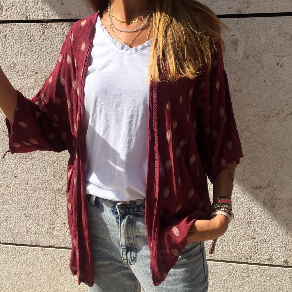 Kimono Padrão | Bordeaux