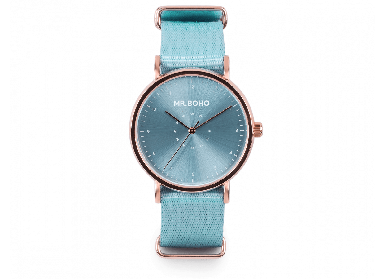 CADET CASUAL METALLIC | BABY BLUE COPPER