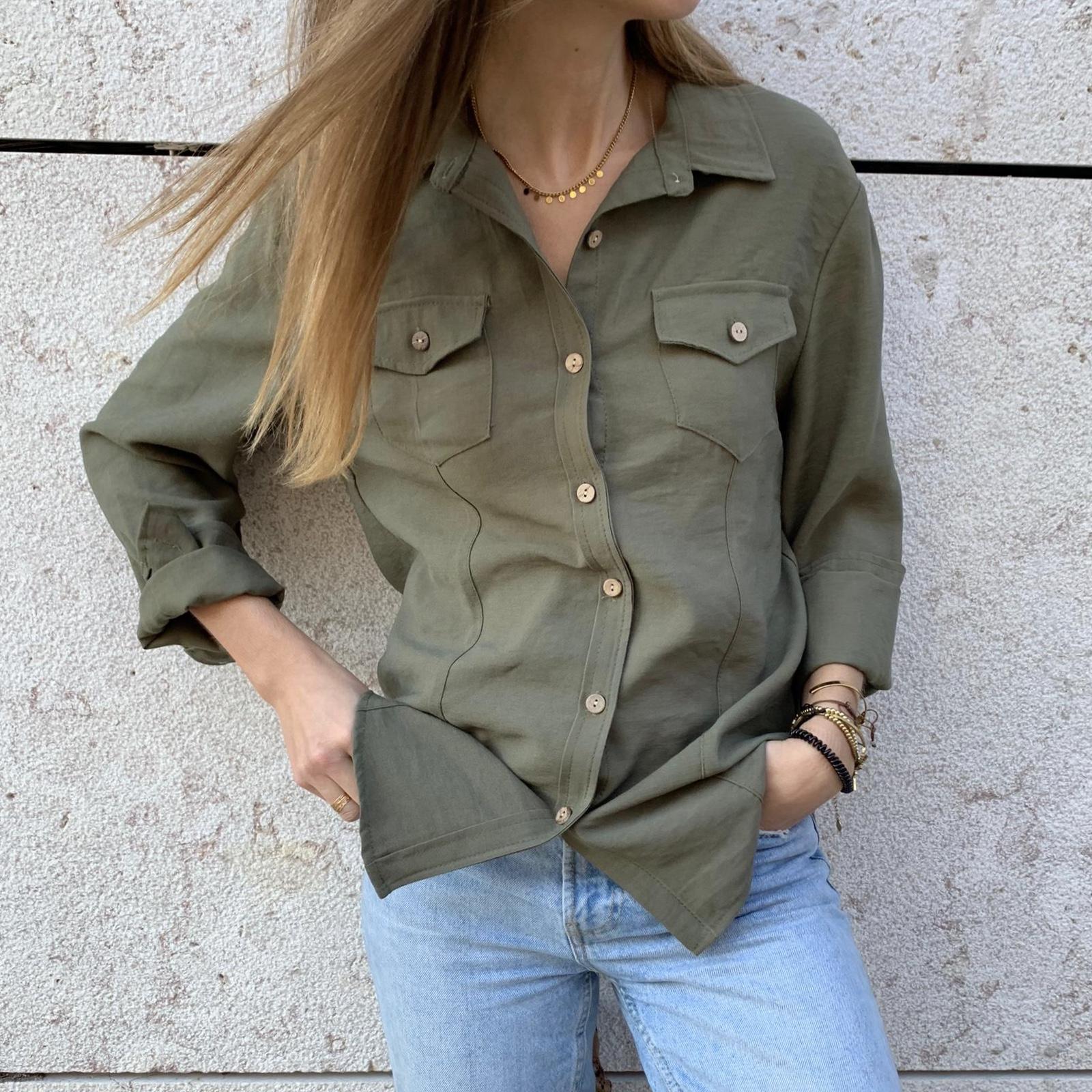 Camisa Safari | Kaki
