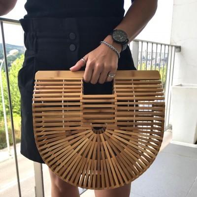 Cesta Bambu L