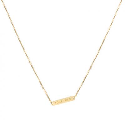 COLAR TOGETHER Dourado | Omnia