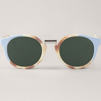 Light Blue/Marble Fitzroy  with classical lenses