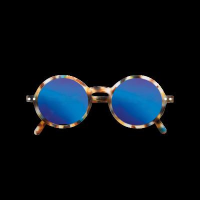 SUN JUNIOR #G Blue Tortoise Mirror