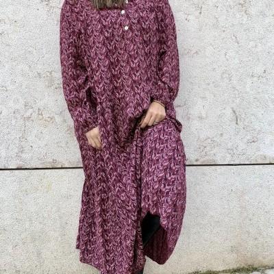 Vestido Pomelo Botões   Mostarda