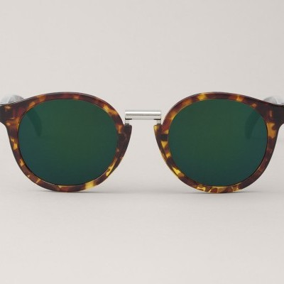 Cheetah Tortoise Fitzroy  with dark green lenses