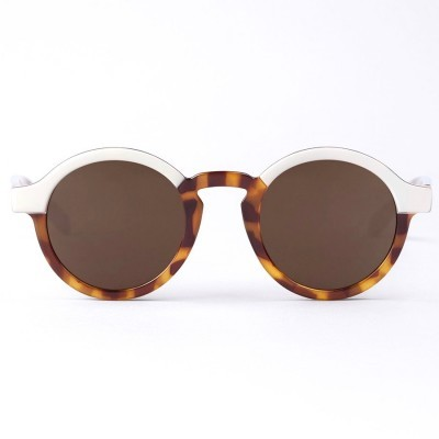Cream/Leo Tortoise DALSTON with classical lenses