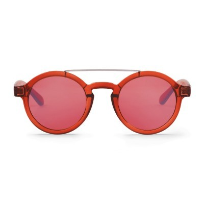 Grapefruit Metal Dalston with transparent red lenses