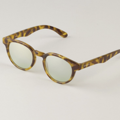 HC Tortoise Trastevere with semitransparent green lenses