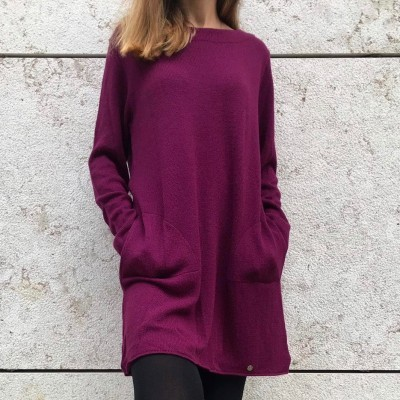 Vestido Ruga | Beringela