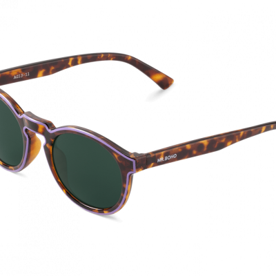 CONTOUR LILA/CHEETAH TORTOISE JORDAAN WITH CLASSICAL LENSES