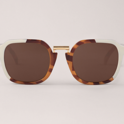 Cream/Leo Tortoise Bushwick  with classical lenses